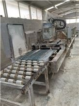 Line Polishing Machine 800mm, 1 Calibrator + 8 Heads Year: 2000