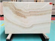 Vein Cut White Tiger / Ivory Akdag Onyx, Walling&Flooring Tiles&Slabs