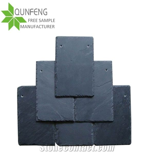 Drill Two Holes Processing Urance Natural Slate Roofing Tiles