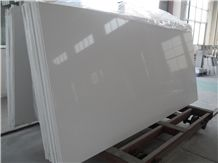 Artificial Quartz Stone Super White Solid Surfaces Engineered Slabs