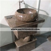 Wash Basin, Armany Bronze Marble Basin