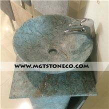 Wash Basin (Turquoise Granite)