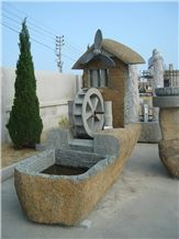 China Garden Fountains Landscaping Sculptures Stone Carvings