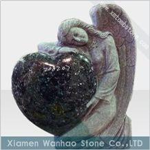China Granite Tombstone&Monument,Angel Heart Memorials,Headstone