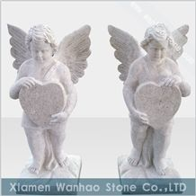 China Granite Tombstone &Monument Funeral Angels Sculptures