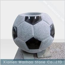 China Granite Tombstone&Monument Funeral Football Vases