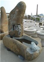 China River Stone Fountains Garden Sculptures Stone Carvings