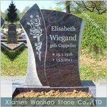 Granite Tombstone,Engraved Monuments,Customs Funeral Memorials
