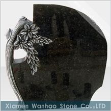 Polished Granite Tombstone&Monument,Tree Headstone, Engraved Memorials