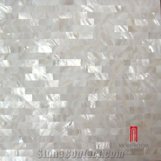 Pearl Shell Mosaic Tile Marble