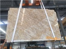 Babylon Gold Van Gogh Polished Marble Slabs Tiles Walling Flooring