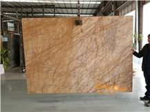 China Babylon Golden Spider Yellow Marble Slabs & Tiles