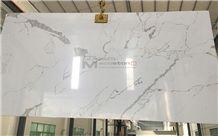 Trusted Manufacturer Of Calacatta Quartz Stone for Countertop