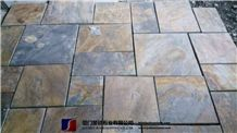 Copper Rusty Natural Slate Tiles, Cheap Good Quality Chinese Stone