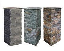 Stone Veneer Porch Columns Gate Pillars Cultured Stone Landscape Stone