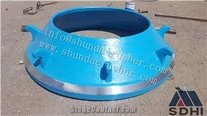 Metso Gp300 Cone Crusher Mantle/Concave/Cone from