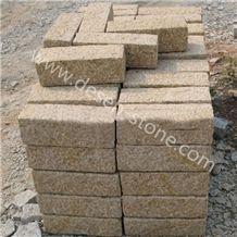 G682 Suset Golden Granite Garden Landscaping Stone Palisades/Pillars