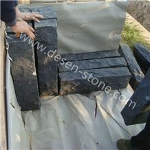 G684 Black Basalt Granite Garden Landscaping Stone Palisades&Pillars