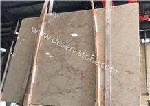 New Kaman Beige Koyubej/Burdur Beige Dark Marble Stone Slabs&Tiles