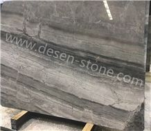 Turkey Luna River/Luna Grey/Moon Dark Gray Marble Stone Slabs&Tiles