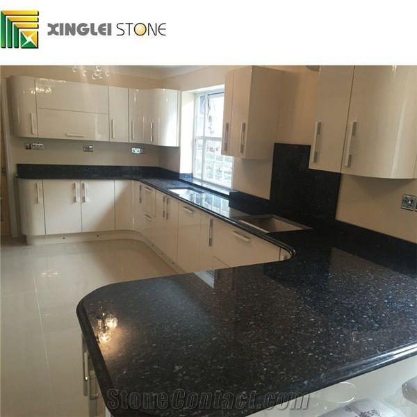 Black Granite Kitchen Counter Tops