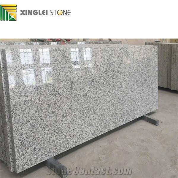 China White G655 Granite Countertops Polish Surface Pre Fabricated Top