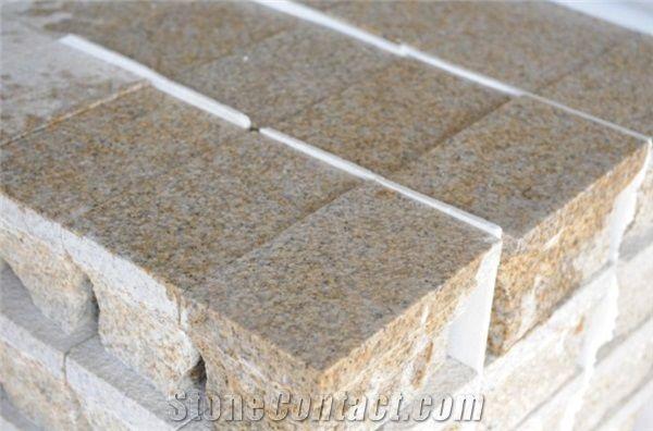 G682 S Yellow Granite Stone Paving Stone Flooring Tile Design From