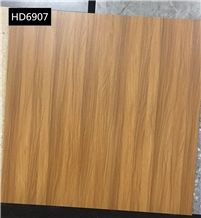Golden Oak Wooden Grain Glazed Floor Tiles