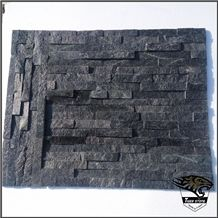 Sy008 Black Slate Walling Tiles Rusty Culture Stone