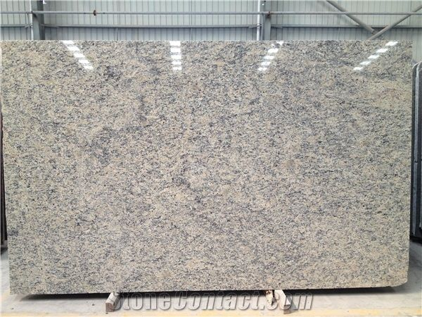 Santa Cecilia Light Granite Slabs Tiles Golden