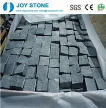 Cheap China Factory Black G654 Granite Cube Stone,Pavers Wholesale