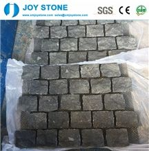 Popular G654 Black Paving,Cube Stone Floor Covering Stones Cheap Sale