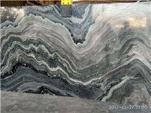 Fantasy Green Granite Slabs & Tiles, India Green Granite