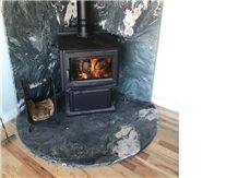 Starry Night Crowsfoot Hearth and Surround