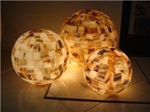 Natural Stone Handicraft Interior Lamps