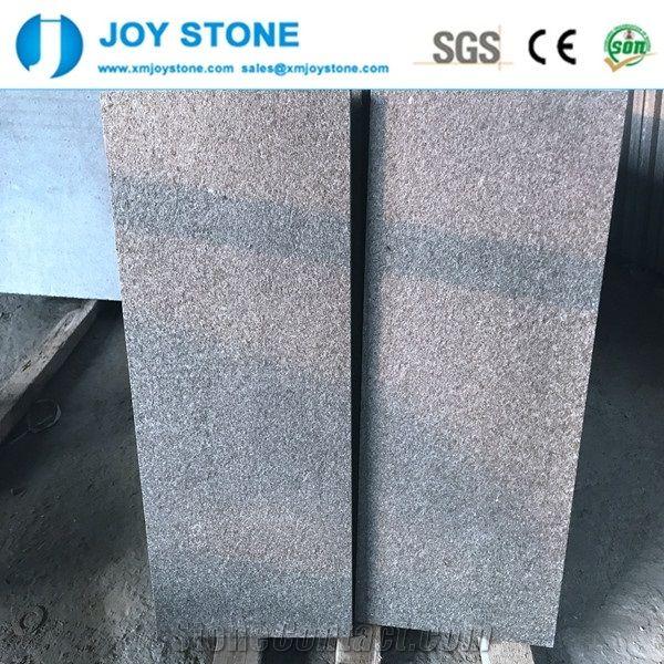 Cheap Price Slippy Resistance Finish G684 Black Granite Floor Tiles