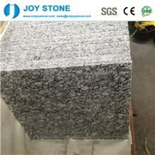 Sea Flower Spray White Granite Polished Cheap Price Floor/ Wall Tiles