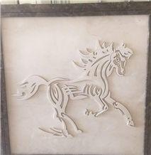 Elegant Beige Marble Relief