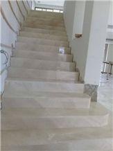 Limestone Crema Orion Stairs