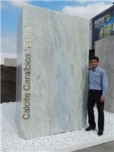 Calcite Caraibica Marble Blocks