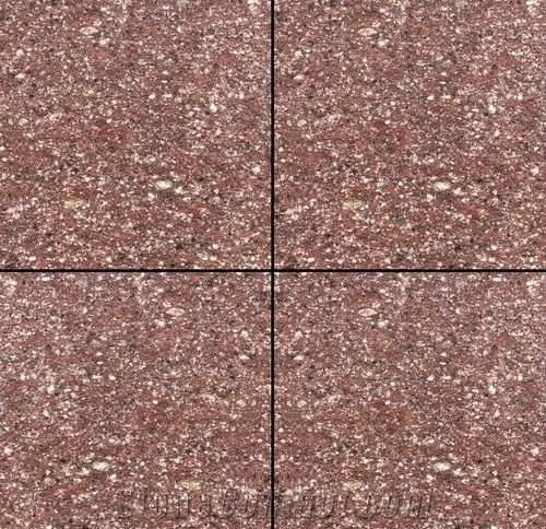 Porphyry Red Stone Tile Slab