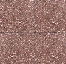 China Porphyry Red Stone Tile, Stone Slab