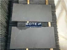 Black Slate Roofing Tiles Natural Stone Roof Covering