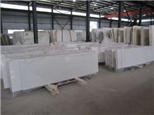 Sichuan China White Pure Snow Marble Slab,Floor Interior Wall Panel