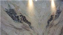 Stellar White Marble Slabs, Tiles