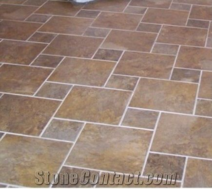 Cheap Chinese Rusty Slate Floor Tilesstepslabquartziteleiyan