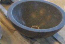 China Bluestone Sink,Limestone Round Basin,Washing Sink,Bathroom Basin