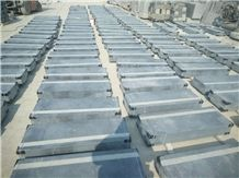 Chinese Blue Stone Stairs with Anti Skid Strip