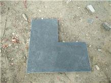 Chinese Bluestone Honed Pool Copping Corner