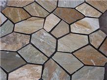 Beautiful Cheap Granite Landscape Driveway Flagstone Paving Stone